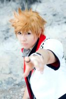 Roxas -  Walls kept tumbling down by FujimiyaRan