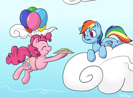 Ballooning by YellowHellion