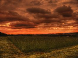 cleevesunset by OliHDR