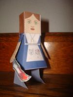 Am. McGee's Alice papercraft by NiGHTSfanKevin