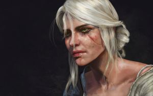 Ciri: Child of the  Elder Blood by Silvaticus