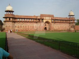 Agra Fort by saintrok