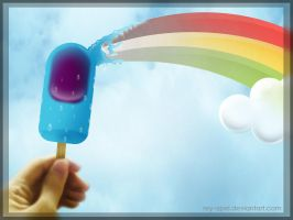 Frozzted Rainbow by rey-apel