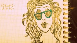 Kelly Green Sunglasses. by trepas