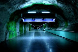 Stockholm Metro by ChuckPunk