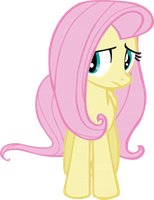 Fluttershy Vector by Kait-the-Lynxx