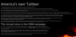 American Taliban by AlleycatCY