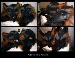 Cross Fox Masks 1 by K-einess