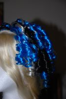 Black and Blue Curls. by SapphireTatanya