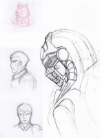 Sketch Dump 2009-00 by Imerei