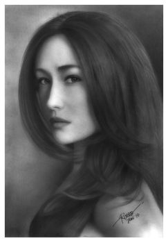 MAGGIE Q - NIKITA by RONSES