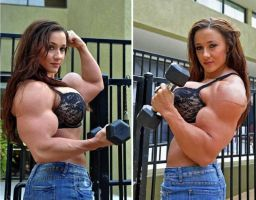 Erica muscled pair1 by Turbo99