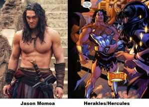 Wonder Woman Fan Cast: Herakles,Hercules V.1