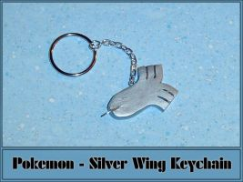 Pokemon - Silver Wing Keychain by YellerCrakka