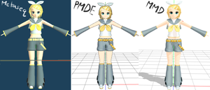 WIP: Rin Kagamine by Aira-Melody