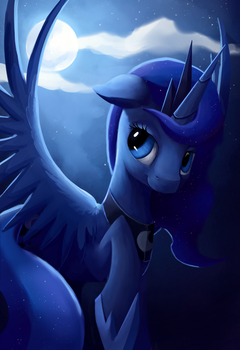 Luna portrait by Camyllea