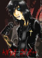 Andy Six of Black Veil Brides by SlicedBerry-Pro