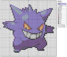 94 - Gengar by Makibird-Stitching