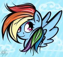 Rainbow Dash by B---K
