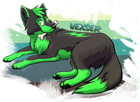 Vexser commish by kwinzilla