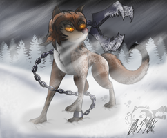 Into the Frozen Wasteland by Mitsi1991