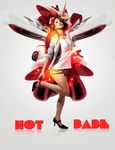 Hot Babe by omnigfx