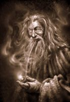 Gandalf The Grey by BustedFluxcapacitor