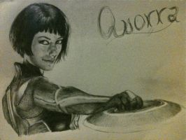 Completed Quorra by deafsweetheart33