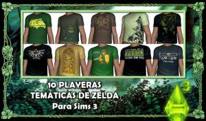 "TS3 - ""The legend of Zelda"" T-shirts by abramoxd"