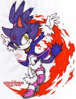 Blaze the Cat 3: Colored by dragonheart07