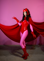 Marvel - Scarlet Witch by Itasil