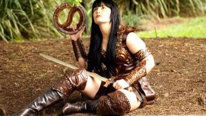 xena cosplay by xenafankiki