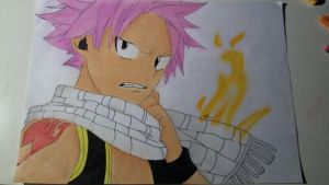 Requested: Natsu from Fairy Tail by MisakiChaan