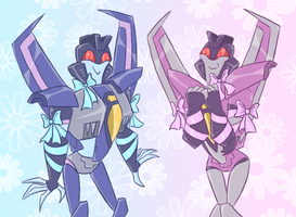 TFA - Pretty bows by Rosey-Raven