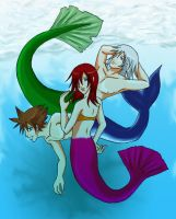 KH: Merfolk by Tobiassilverstreak