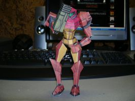 Papercraft Samus Aran by Esteban1988