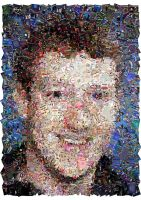 Mark Zuckerberg Mosaic by Cornejo-Sanchez