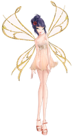 Winx Musa couture fairy by fantazyme