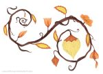 Autumn Inspiration by Coeurdelouve