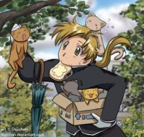 FMA - Busy Aru :3 by DejiNyucu