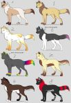 Adoptables by Apfelblut