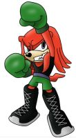 Super smash bros: Knuckles/Little Mac by DredgeTH
