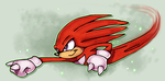 Knuckles by griffsnuff