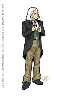 William Hartnell The First Doctor by Inspector97