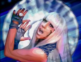 Lady Gaga by cylevie