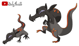 SALANDIT EVOLUTION - pokemon sun and moon