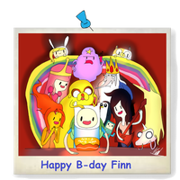 Happy B-day Finn by karlix-the-wiz