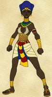 Sekhotep is Dressed for War by DaBrandonSphere