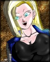 Android 18 - Sinister by MarvelousMark