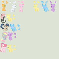 Massive Breedables UNFINISHED, I WILL ADD MORE by Rainbow-ninja-adopts